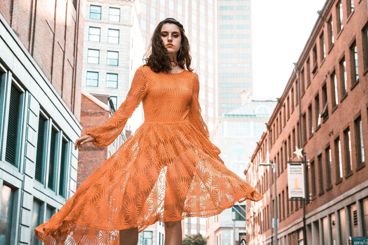 etikus_gardrób narancssárga ruha